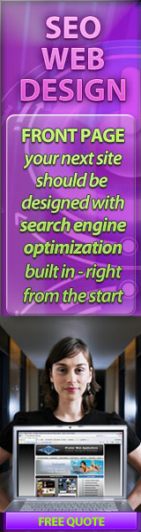 Search Engine Optimization built into your web design.
